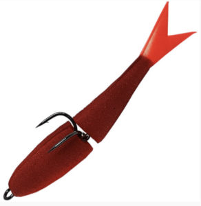 Acoustic Baits Double  Fluo MudBlood Поролонка двухсоставная 9 см. купить по низкой цене