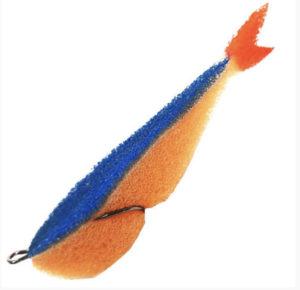 Acoustic Baits Поролонка Fat Fluo 9 см Orange/Blue купить по низкой цене