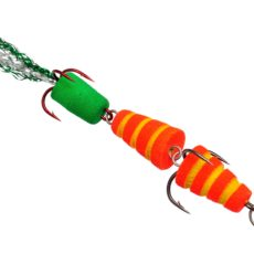 Мандула Флюорополосатик 8 см. Красный Acoustic Baits