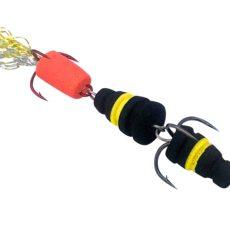 Мандула Флюорохвостка Желто-Черная 8 см. Acoustic Baits