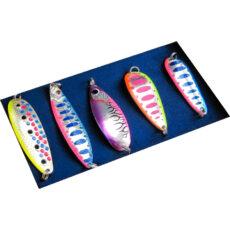 Набор блесен RB №2 для ловли лососевых (5шт)